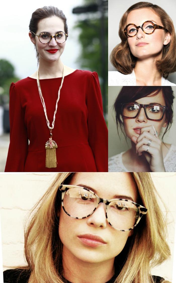 Os óculos tartaruga